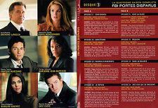 FBI PORTES DISPARUS Saison 4 EPIS 17 à 24 (1 DVD) -