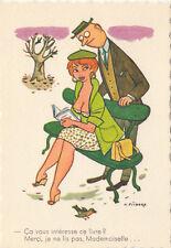 Carte postale HUMORISTIQUE HUMOUR PICHARD ça vous intéresse ce livre ...
