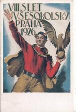 A8732) CECOSLOVACCHIA, 8 SLET VSESOKOLSKI PRAHA 1926.