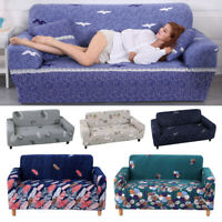 Sofa Covers Spandex Slipcovers Sectional Stretch Sofa Cover For 1/2/3/4 Seater