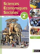 sciences économiques et sociales   2nde   livre de l'élève (édition 2016)
