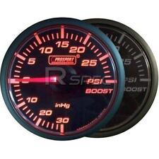 Prosport 45mm Turbo Boost PSI Gauge Amber / Clear Stepper Motor