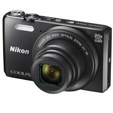 Nikon 26483 Black COOLPIX S7000 Digital Camera with 16 MP and