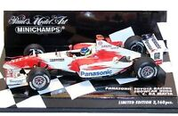 MINICHAMPS PANASONIC TOYOTA RACING TF104 F1 diecast model cars 2004 1:43rd