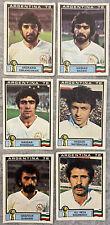 12 ORIGINAL PANINI ARGENTINA 78 UNUSED IRAN STICKERS ARG-503 WORLD CUP