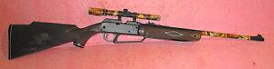 Daisy Powerline 880 .177 Caliber Air Gun Rifle + Scope  & Camo TESTED