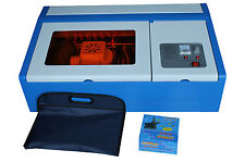 CO2 Laser Engraving Machine Engraver Cutter Clamp 110v with 40W Laser Tube