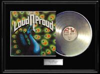 NAZARETH LOUD AND PROUD LP WHITE GOLD SILVER  PLATINUM TONE RECORD ALBUM RARE