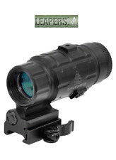 UTG Scope 3X Magnifier with Flip-to-side QD Mount, W/E Adjustable SCP-MF3WEQS
