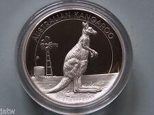 Australia. 2012 High Relief  $1 Kangaroo -   1oz Silver - Proof - Cased.