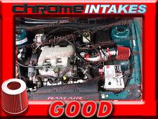 RED 97-05 PONTIAC GRAND AM/ALERO/MALIBU 3.1 3.1L/3.4 3.4L V6 AIR INTAKE TB