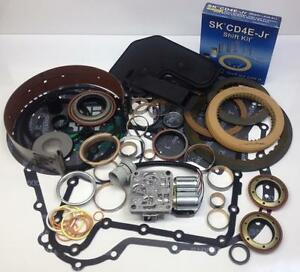 Mazda Tribute V6 CD4E Automatic Transmission Deluxe Rebuild Kit