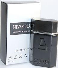 AZZARO SILVER BLACK BY AZZARO 0.23 OZ EDT SPLASH MINI FOR MEN NEW IN BOX