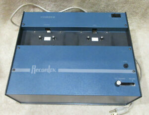 Vintage Recordex Courier II Audio Cassette Tape Duplicator Recorder -TESTED