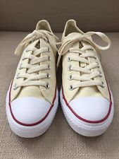 CONVERSE ALL STAR PARCHMENT SNEAKERS RED STRIPE SOLE MENS 5   WOMENS 7 NWOB 00e1aeae8