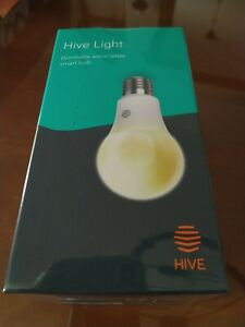 Hive Dimmable Warm White Smart Bulb Light