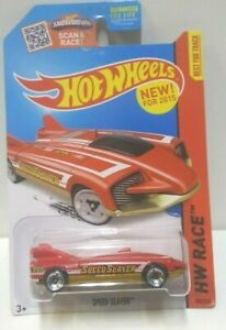 2015 Hot Wheels Race Speed Slayer Red 180