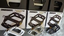 DMR V12 MAGNESIUM Mag Flat Platform Pedals (NEW) Mountain Bike BMX (3 Colours)