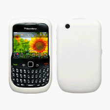Silicone Skin Case for Blackberry Curve 8520 - White