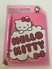 HELLO KITTY GLITTER DIARY WITH PEN GIFT SET TODDLER GIRLS BOW