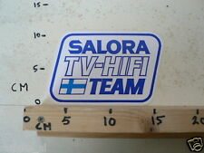 STICKER,DECAL SALORA TV HIFI TEAM