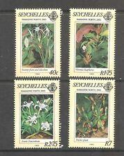 Seychelles  (1983)  - Scott # 524 - 527,  Plants