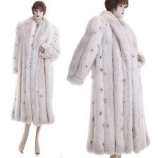 Mint! Lux Sensual, Sexy Real Fox Full-Length Fur Coat