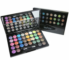 Technic 36pc Eye Shadow Palette Set Baby Pink White Black Mint Coral Nude GIFT