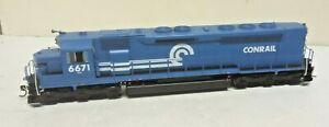 Athearn HO SDP45 Conrail Railroad 6671 ATH G63714 Soundtrax DCC Tsunami Sound