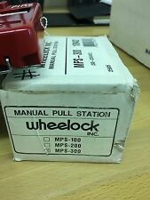Wheelock Manual Pullstation MPS-300