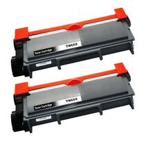 Compatible TN660 TN630 Black Toner Cartridge (2 pack)