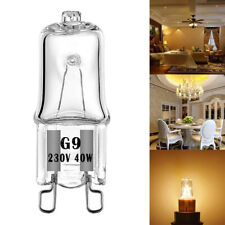 10PCS G9 2700K Halogen 40W Warm White Globe Light Bulb Lamp 230V