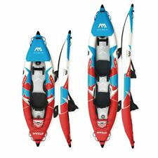 Inflatable Boat Sport Kayak PVC Dinghy Raft Pump Seat Drop-stitch Floor