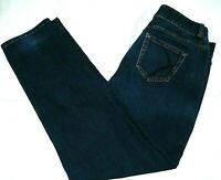 Lane Bryant Tighter Tummy Technology Jeans, high straight-16R,slimming dark wash