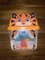 Mega Bloks First Builders Smiley Tiger with Big Building Blocks, Building Toys f