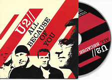 U2 - All because of you CD SINGLE 2TR EU Cardsleeve 2005 (Island Records)