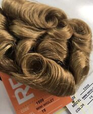 NEW PAGEANT HAIR PIECE * MINI WIGLET * Updo Prom #16 Blonde human Hair