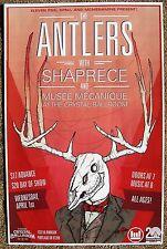 The Antlers 2015 Gig Poster Portland Oregon Concert