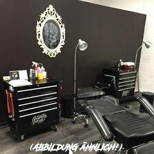 Tattoo Studio Work Station Mobiler Arbeitsschrank 7 Schubfächer 3 Magnethalter