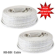 Amview  2A 60ft Premade RG59 High Definition Coaxial Cable for HD-SDI Camera HD