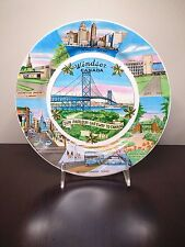 Vintage Windsor Ontario Canada Sun Parlour Gateway To Canada Hanging Plate