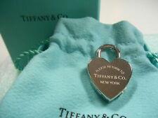 NEW Tiffany Return to Tiffany Heart Padlock Watch Pendant 4 Necklace, Bracelet