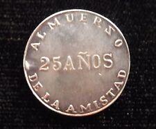 unattributed token 25 years friendship lunch Peru? medal southamerica latin