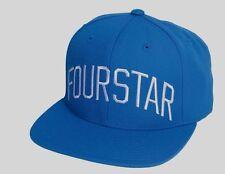 Fourstar LEAGUE ARCH Mens Adjustable Snapback Hat Royal Blue NEW
