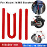 Wheel Cover Protective Reflective Sticker for Xiaomi Mijia M365 Electric Scooter