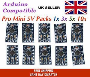 Pro Mini (Arduino compatible) 5V 16 Mhz compatible multipacks - UK Seller