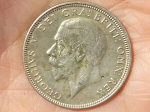 1930 Florin George V Silver Coin KEY DATE   #A49