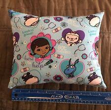 """Beautiful Handmade Doc Mcstuffins Accent - Throw Pillow 10"""" x 8"""""""