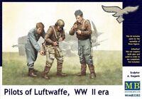 MAS3202 - Masterbox 1:3 2 Échelle - Pilotes de Luftwaffe,2nd Guerre Mondiale Ère