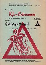 6. Lauf der KFZ-Veteranen auf dem Schleizer Dreieck, 55.Schleizer Dreiecksrennen